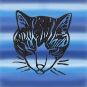 Sleepy Cat Stripes 3