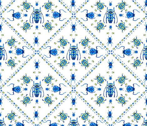 beetle mania fabric by booboo_collective on Spoonflower - custom fabric