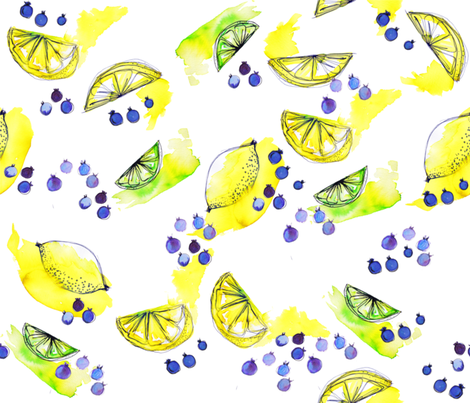 tutti juicy frutti fabric by booboo_collective on Spoonflower - custom fabric