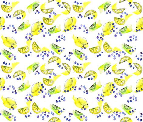 tutti juicy frutti fabric by booboo_collective on Spoonflower - custom fabric