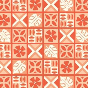 Modern Tiki Tapa Cloth