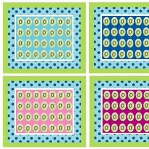 Kiwi polka dot 21  - color 4