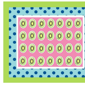 Kiwi polka dots 42 - color 4 wholecloth