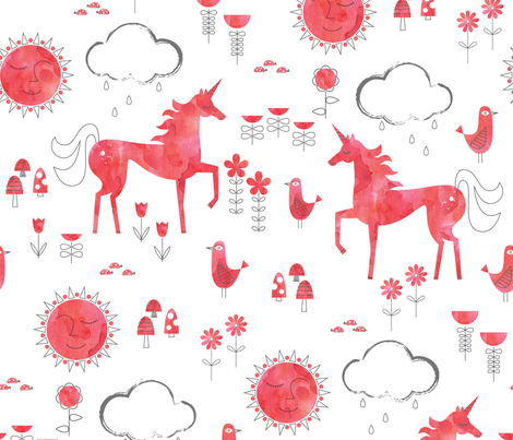 The Sun Will Come Out fabric by katerhees on Spoonflower - custom fabric