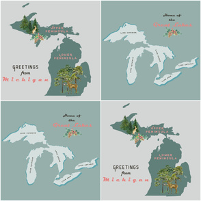 Greetings from Michigan & Great Lakes