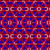 Escher Inspired Geometric Print