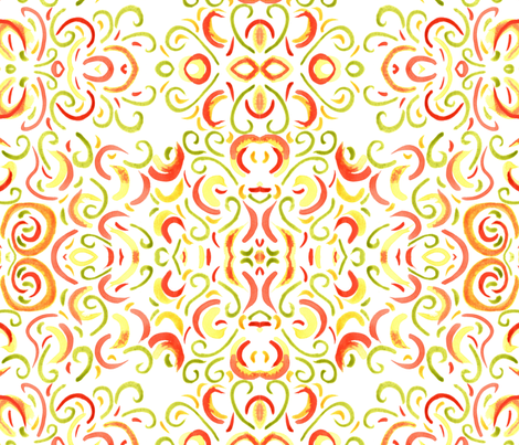 Abstract 2 fabric by artbyalpach on Spoonflower - custom fabric
