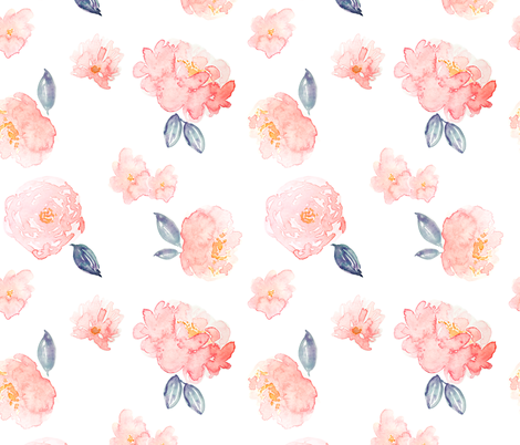 Indy Bloom Design Lyla Bloom C fabric by indybloomdesign on Spoonflower - custom fabric