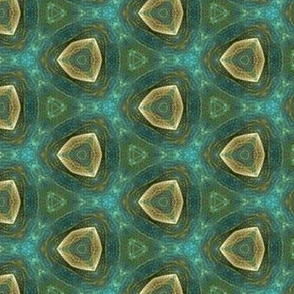 watercolor_green_cream_triangles