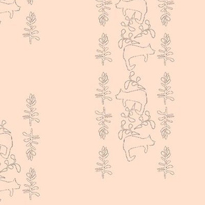 cat cacti outline