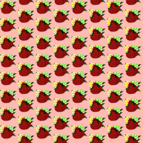Watercolour Fruits fabric by flutterbi on Spoonflower - custom fabric