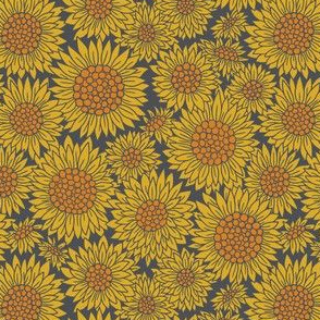 Farmhouse Sunflowers | Grey