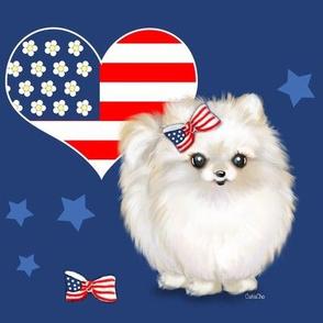 Patriotic_Pomeranian_Love L