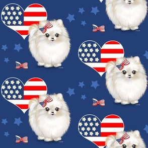 Patriotic_Pomeranian_Love M