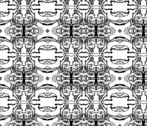 mask  fabric by artbyvilla on Spoonflower - custom fabric