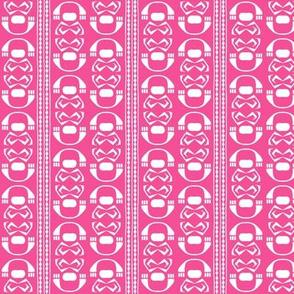 SUZI STRIPE Bright Pink