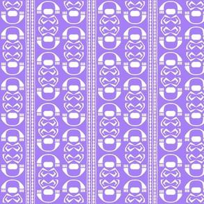 SUZI STRIPE Clear Violet
