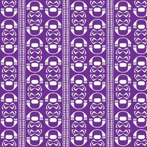 SUZI STRIPE Plum Purple