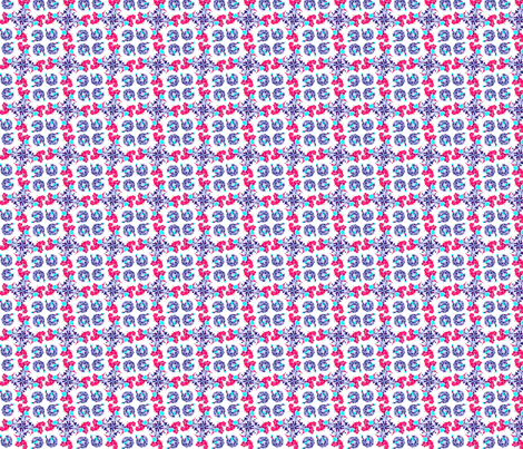 rosie spinners fabric by twigsandblossoms on Spoonflower - custom fabric