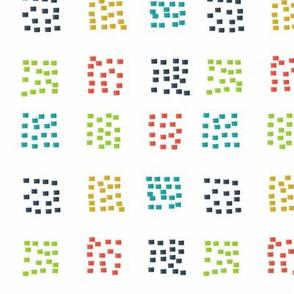 Dashing multi color sq