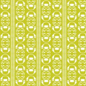 SUZI STRIPE -Chartreuse