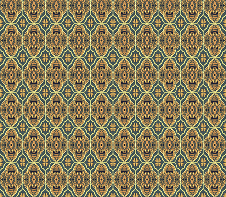 Jane  fabric by franbail on Spoonflower - custom fabric