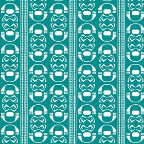SUZI STRIPE Turquoise
