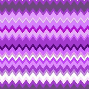 Zigzag Purples