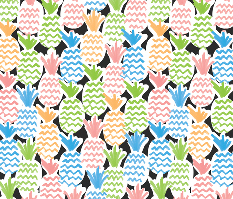 Tall & Sweet fabric by christinelynnjohansen on Spoonflower - custom fabric