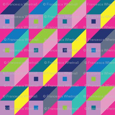 Roman Blocks - Pinks