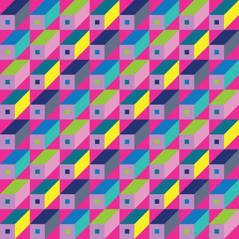 Roman Blocks - Pinks fabric by cecca on Spoonflower - custom fabric