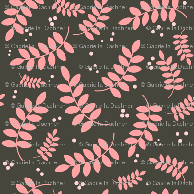 Pink leafs