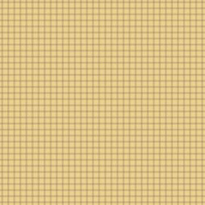 Timeless - Plaid, Gold
