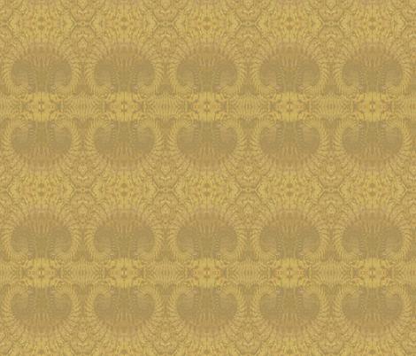 Native Pattern 3 Gold Brown Shadow 1 fabric by islandsoftime,llc on Spoonflower - custom fabric