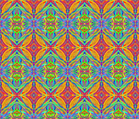 Autumn Wind Dancers fabric by rhondadesigns on Spoonflower - custom fabric