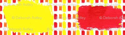 Heat Stripes in Watercolors