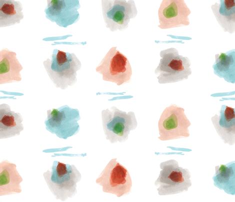 Cloud Island Dots  fabric by jamie_runnells on Spoonflower - custom fabric