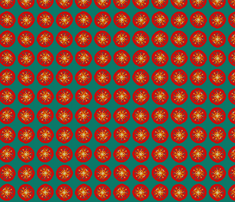 Summer Tomatoes fabric by patrice_n_anderson on Spoonflower - custom fabric