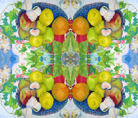 fruit fabric by marigoldpink on Spoonflower - custom fabric