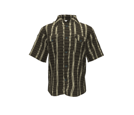 bowling shirt charcoal