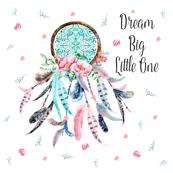 """20""""x20"""" Pillows / Aqua & Pink Dream Catcher"""