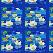 White_Water_Lilies_Panel_R_F