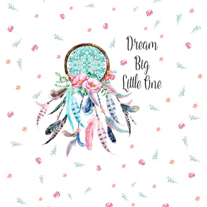 "20""x20"" Dream Catcher inside a 30""x36"" Space"