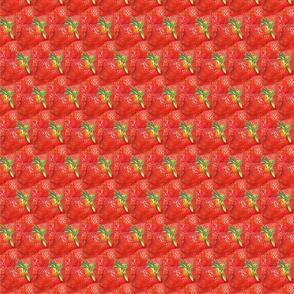 watercolor stawberries