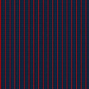 baseball stripes- red on navy