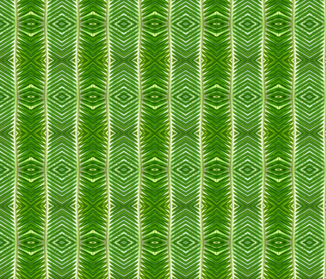 palm frond 16 fabric by hypersphere on Spoonflower - custom fabric