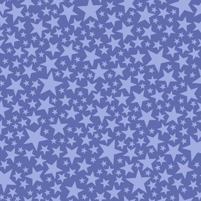 Star Shower* (Shadow) || stars outer space galaxy universe pop art patriotic independence day July 4th geometric