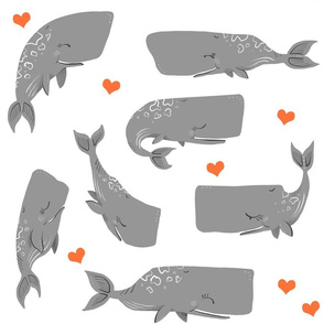 Whales and Hearts
