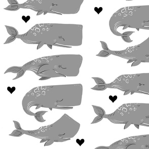 Stack of Whales - Larger Size