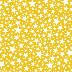 Star Shower* (Velvet Banana) || stars outer space galaxy universe pop art patriotic independence day July 4th geometric kids children baby nursery gold glitter sparkle sparkly